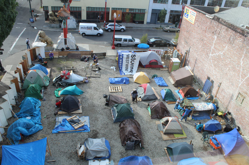 Criminalizing the Homeless: Sacramento Moves to End Tent ...