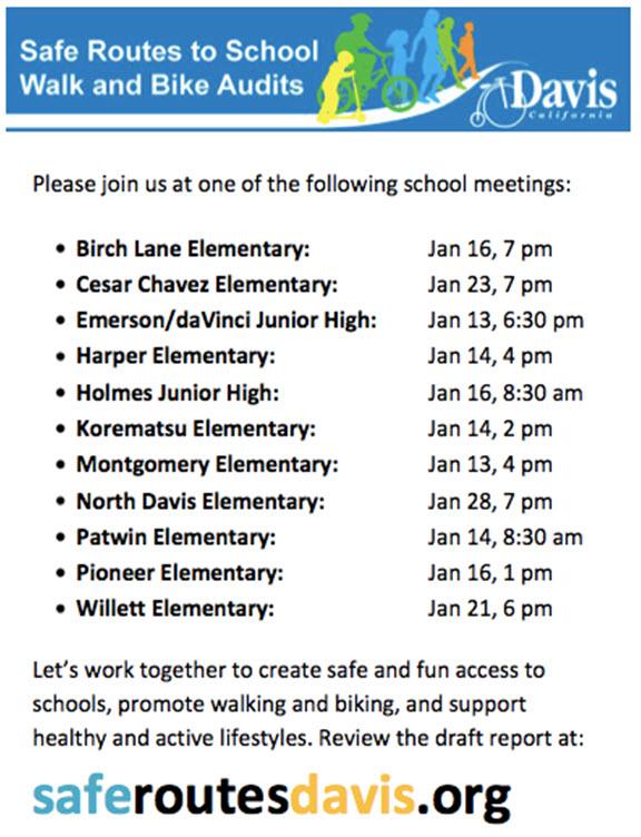Biking and Walking to School in Davis | Davis Vanguard