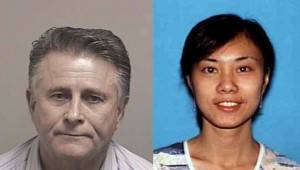 Nicholas Bowen (Left) and Wenyi Xu (Right) face multiple felonies including indencent exposure and engaging in lewd acts in public.