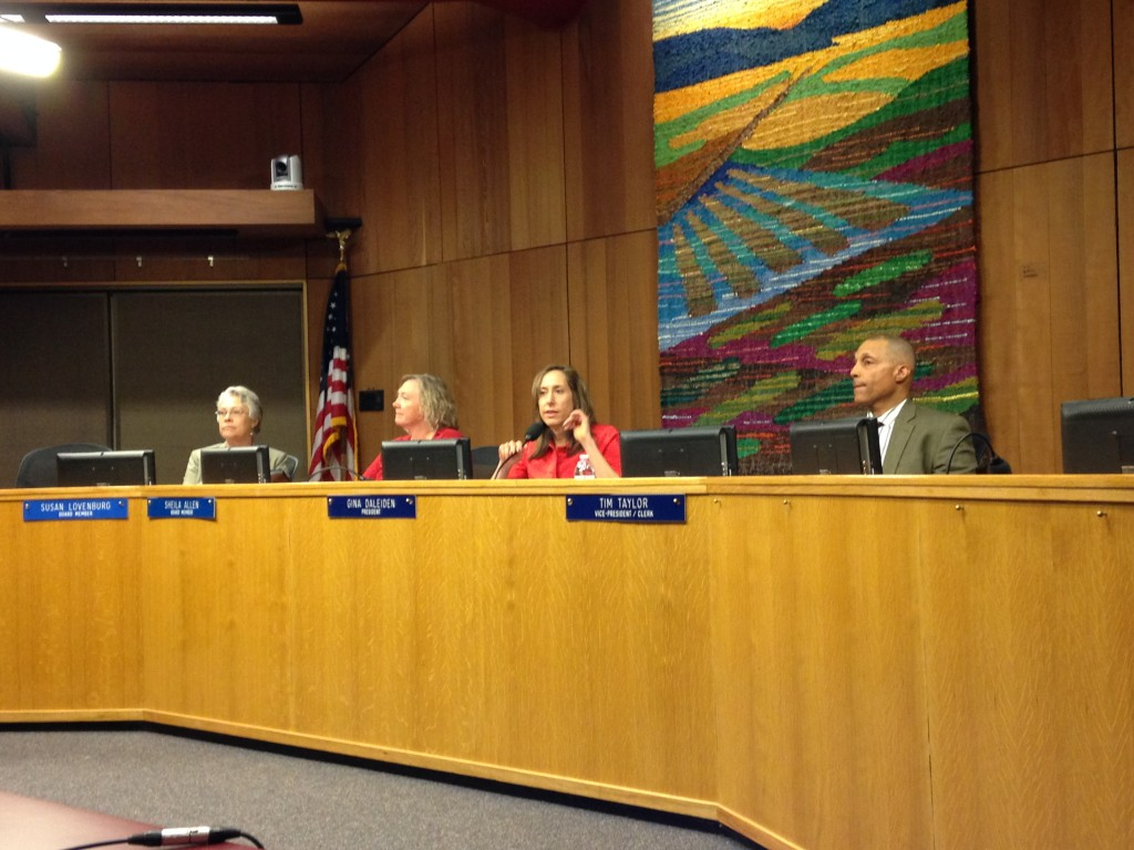 Board listens to public comment prior to appeal hearing on Thursday night